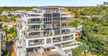 Featured Home: Penthouse living featuring envious views