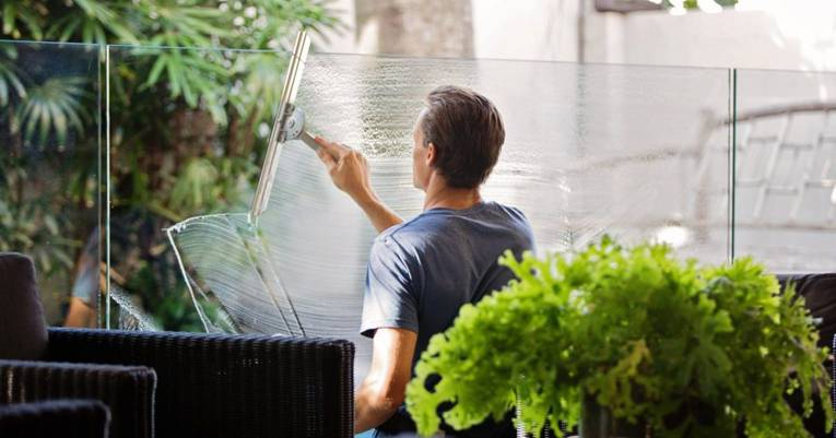 When is the best time to clean my windows?
